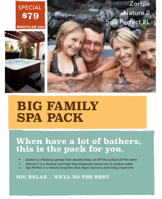 big family spa pack