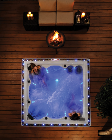 Think of your Hot Tub as an Oasis - RnR Hot Tubs and Spas - Hot Tubs Alberta