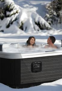 Unwinding After Winter Activities - RnR Hot Tubs and Spa - Hot Tubs and Spa Calgary